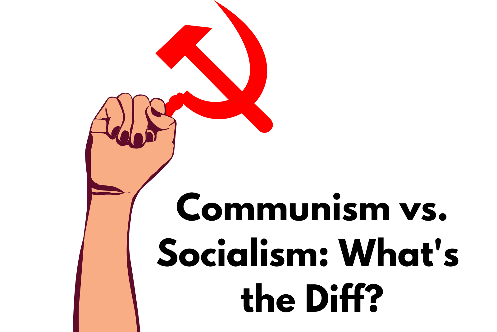 Ep. 5 Communism VS. Socialism VS. Capitalism: What's the Diff?