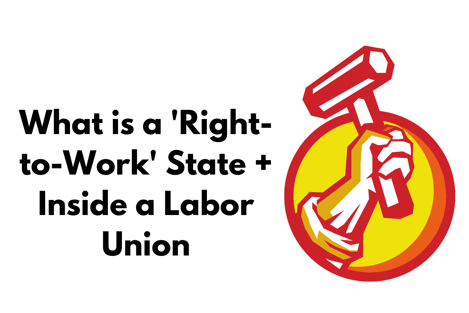 Ep 17 What is a Right-to-Work State?