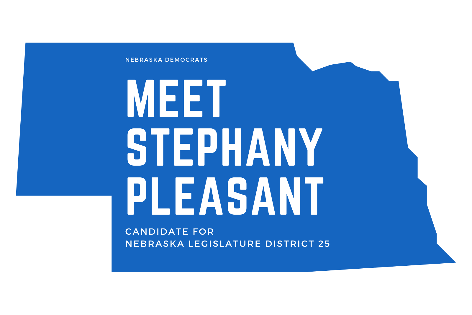 Ep. 29 Meet Stephany Pleasant, Candidate for Nebraska Legislature, District 25