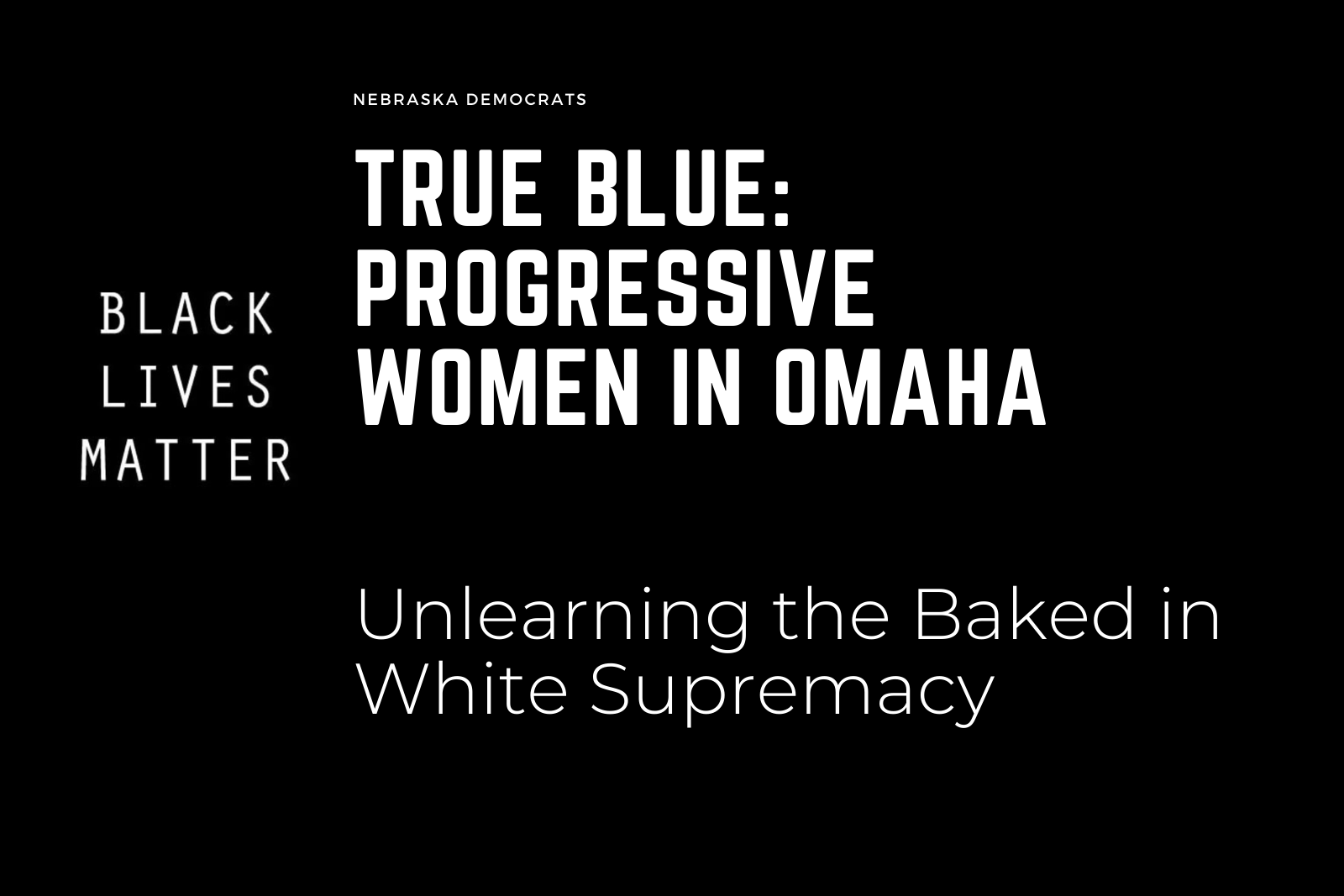 Unlearning the baked in white supremacy