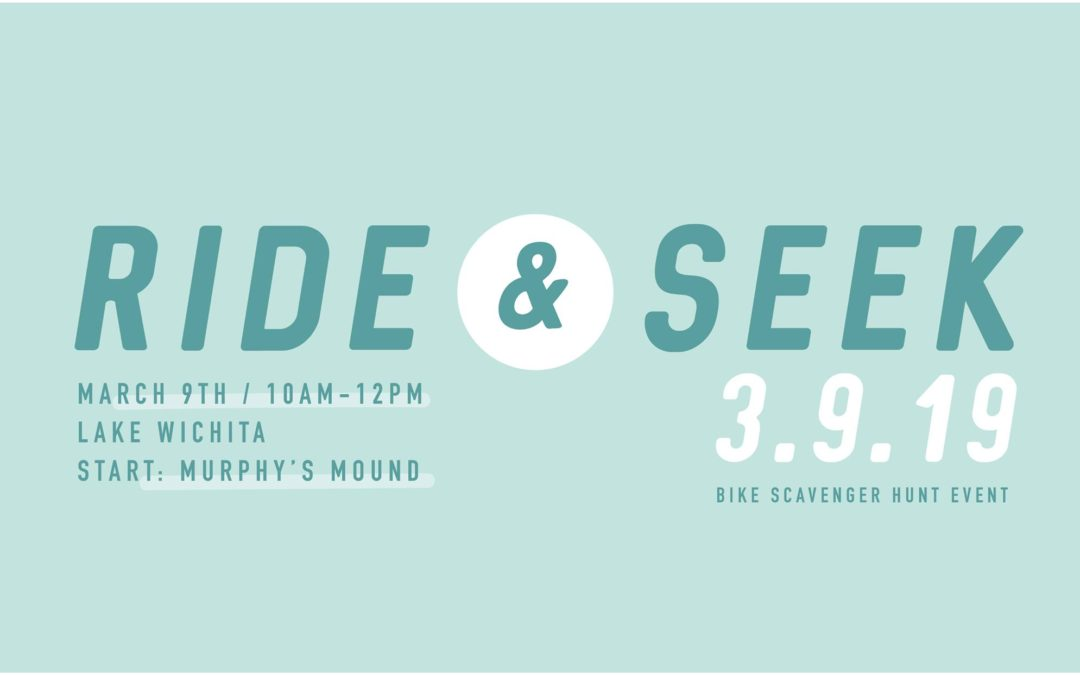 Ride & Seek set for Saturday, March 9th, 2019