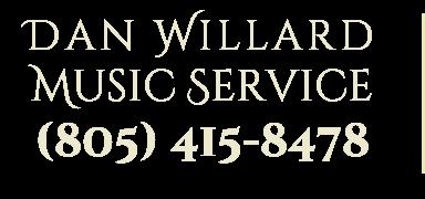 dan willard music service los angeles