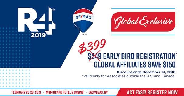 Descuento para la Convención de RE/MAX en Las Vegas