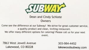 Lakewood Subway