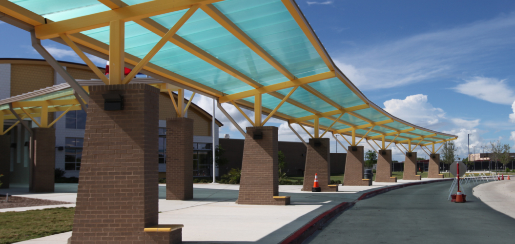 Translucent Polycarbonate Canopy