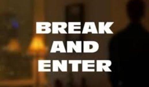 break and enter ca