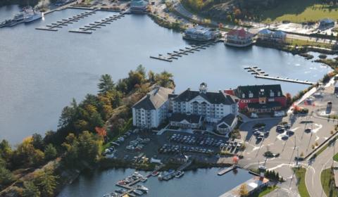 wharf aerial