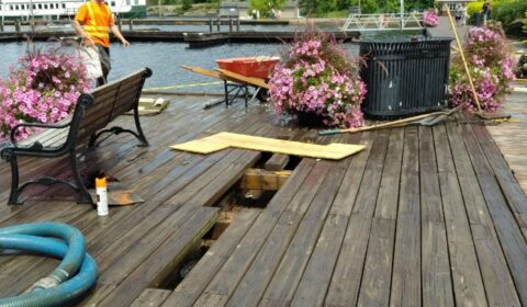 wharf repair