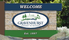 gravenhurst sign logo