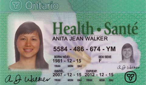 health card new