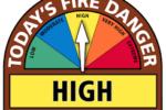 fire alert high