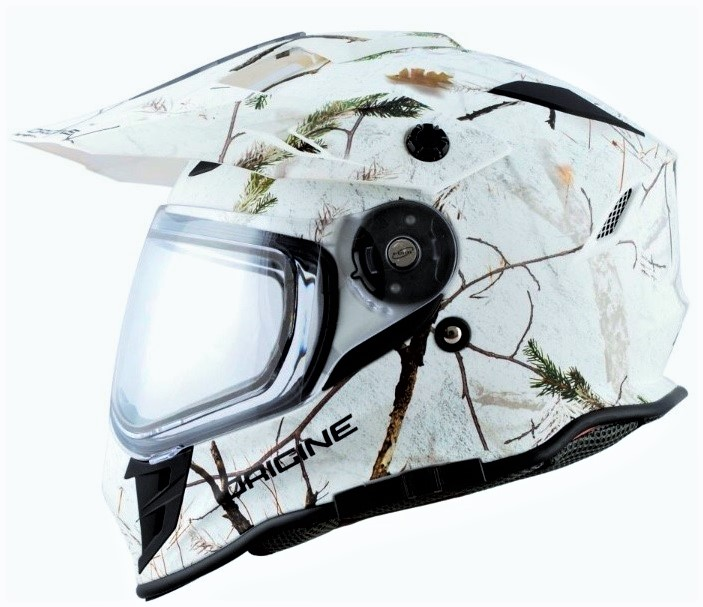 Police are also looking for white camo helmet stolen this past weekend.