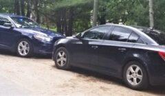 spike belt cars