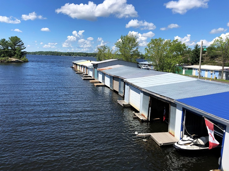 ORIGINAL WHARF'S HERITAGE RECOGNIZED BY 'TIN BOATHOUSE' OWNERS