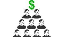ponzi scheme front