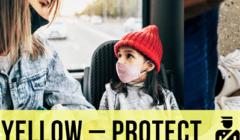 yellow protect logo