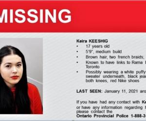 missing rama teen