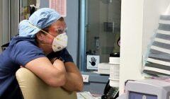 nurse stare front
