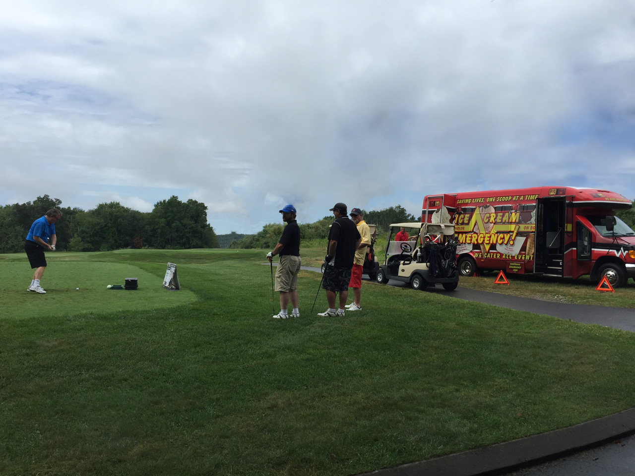 Golf Tournament Ice Cream Event