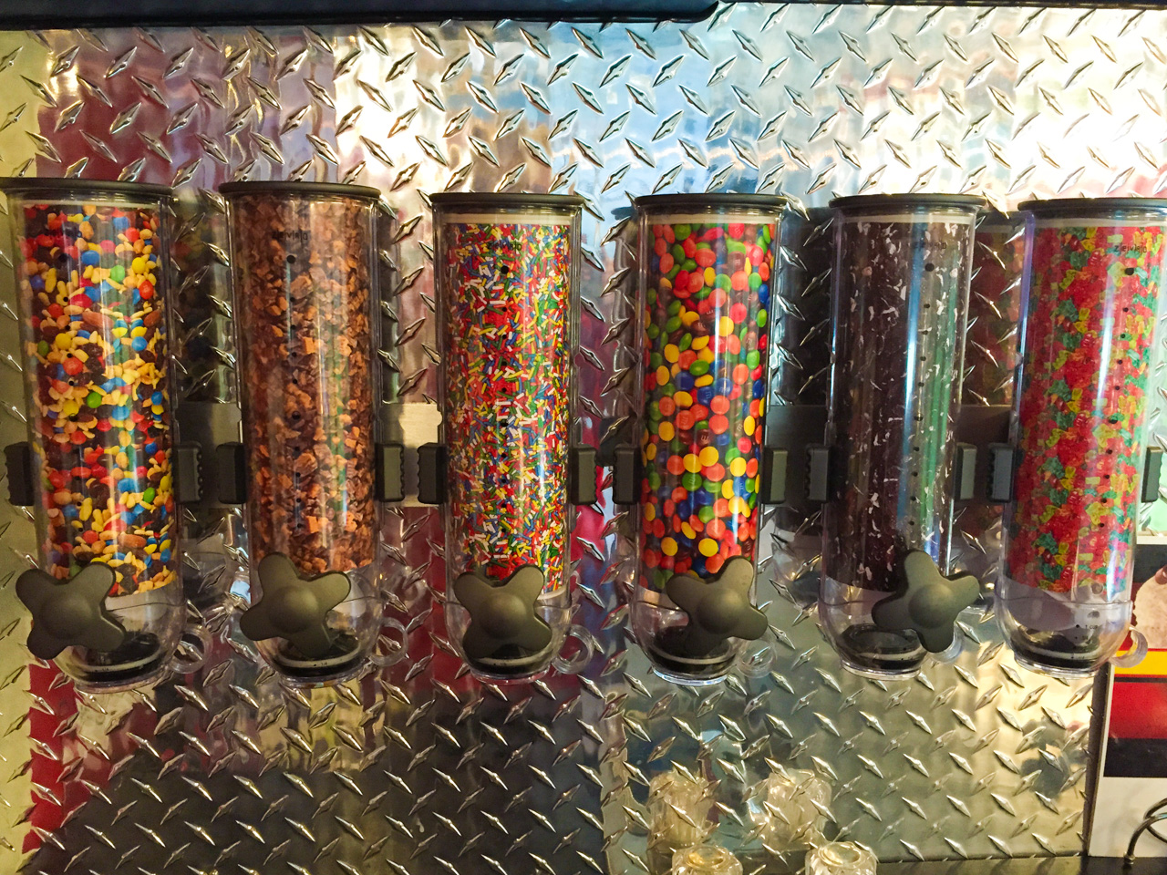 Variety of Toppings for Ice Cream