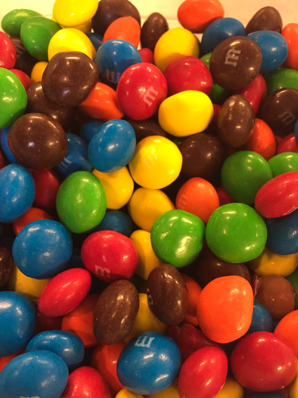 M&M Toppings for Ice Cream