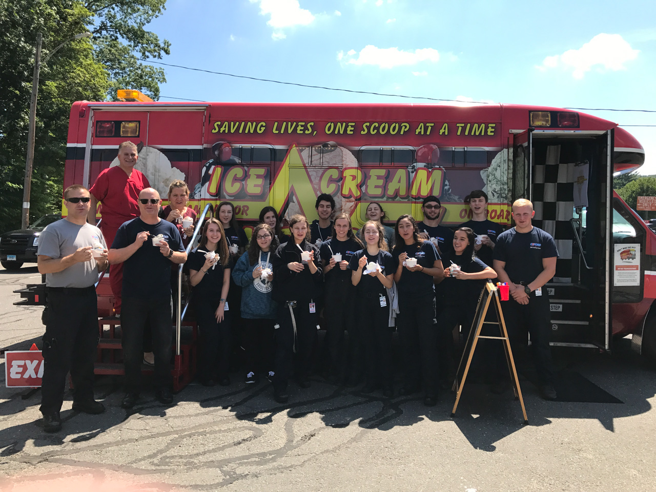 Corporate Event with Ice Cream Emergency