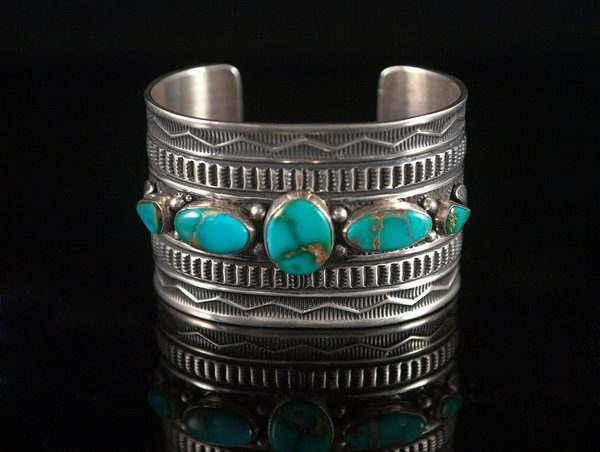 Sterling Silver Cuff Bracelet With