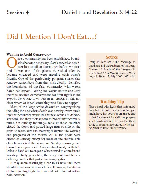 Session 4 – Did I Mention I Don_t Eat