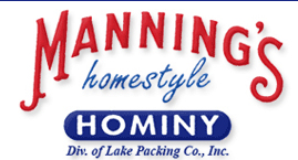 Live free with our hominy: additive free, fat free, cholesterol free.