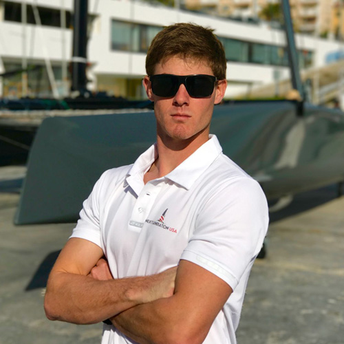 Sailing Performance training fitness coach Carson Crain