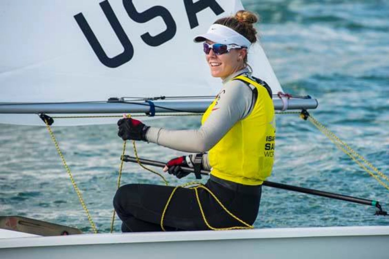 US Olympic sailor and Sailing performance athlete fitness paige Railey profile