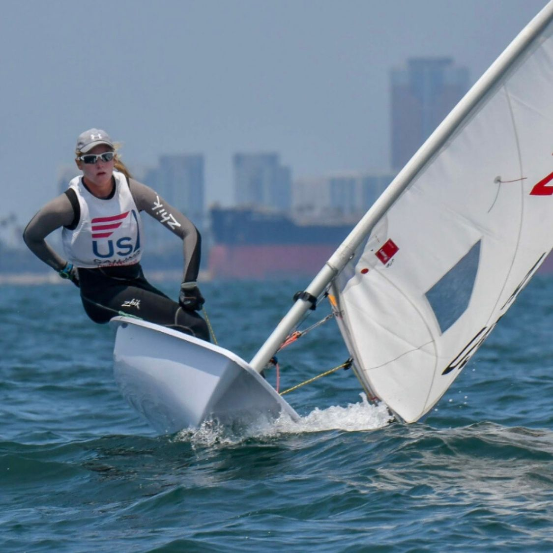professional sailor hallie schiffman SPT athlete