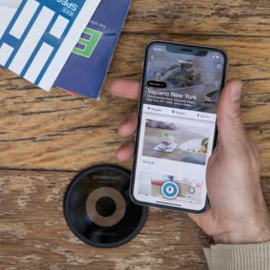 Surface mounted wireless Charging Spot