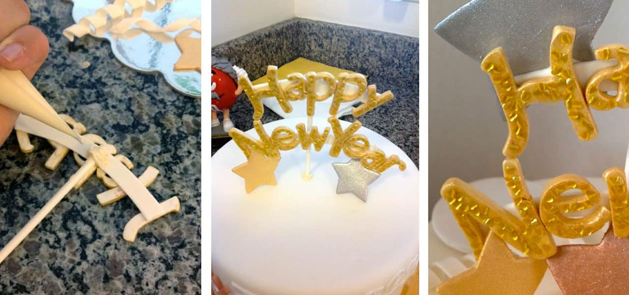 Add a Little Star Power to your New Year's Eve Cake