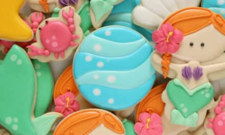 Under the Sea: Mermaid Cookies