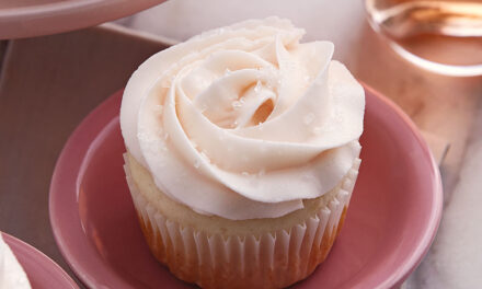 First Friday: Rosé Champagne Cupcakes