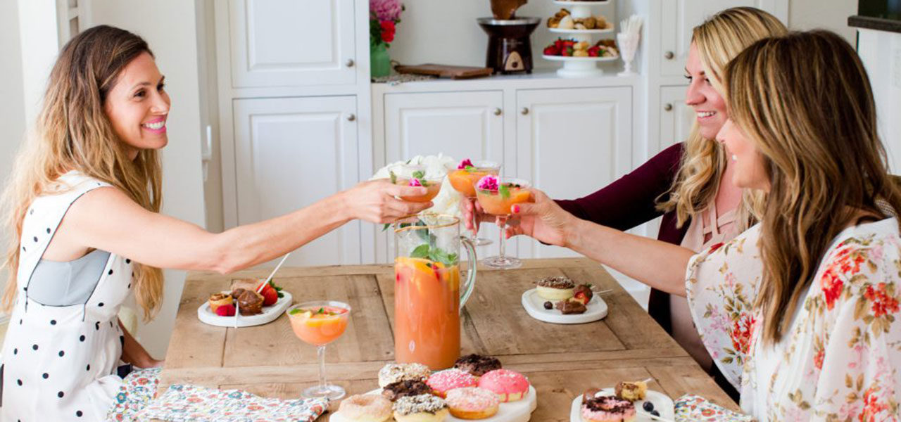 First Friday: Jenny of Jenny Cookies Dishes On Her Favorite Champagne Brunch Ideas