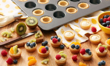 Mini Fruit Tarts for Summer