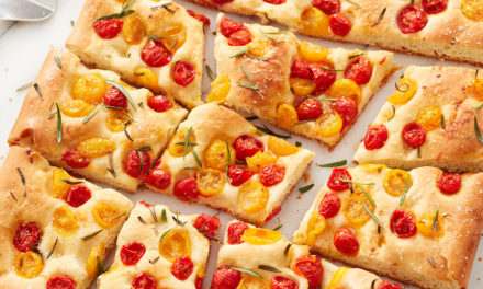 Tomato and Rosemary Focaccia
