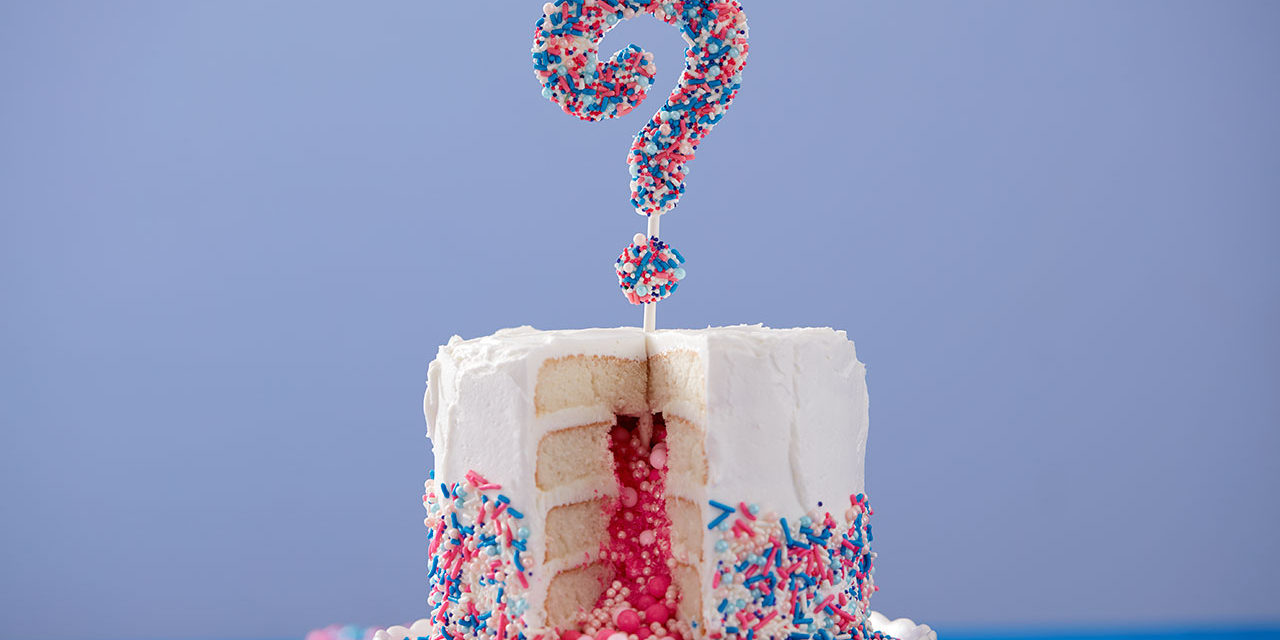 How to Make a Gender Reveal Cake!