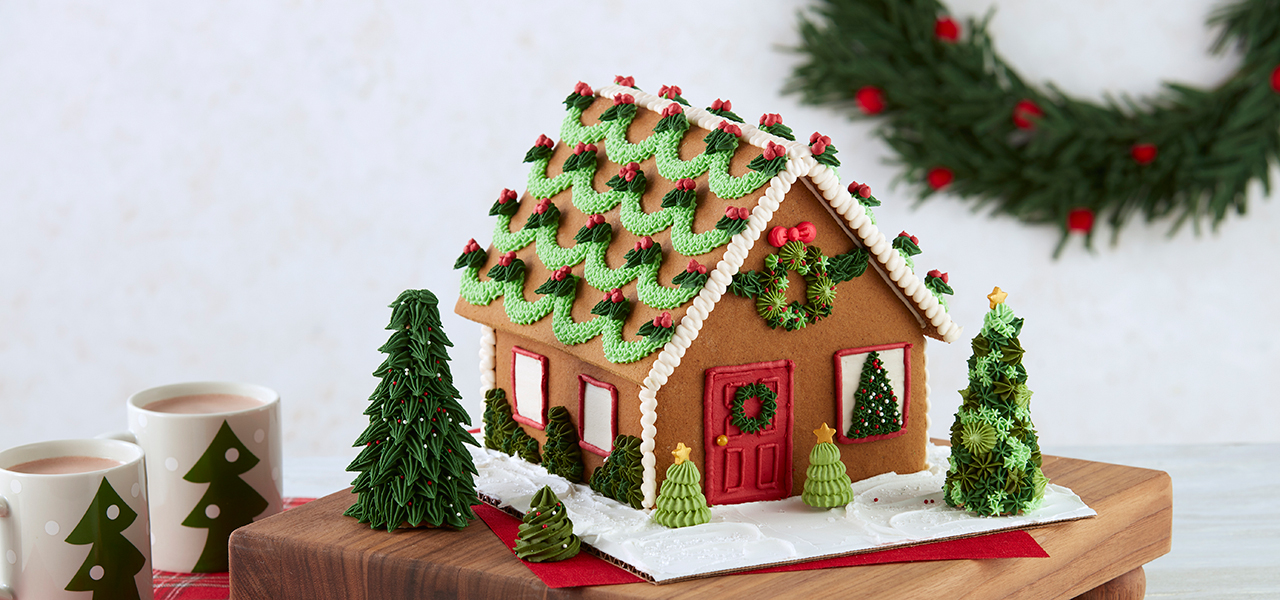 How To Decorate A Gingerbread House Wilton