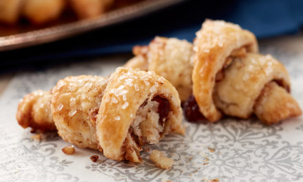Pecan and Cranberry Rugelach Recipe