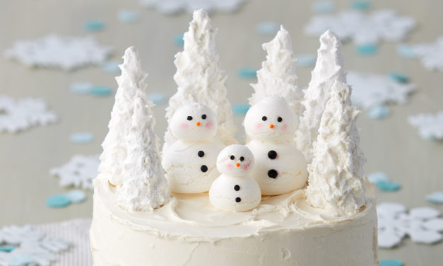 7 Winter Cakes for January Birthdays