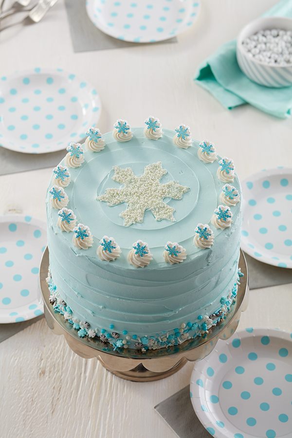 Excellent 7 Winter Cakes For January Birthdays Wilton Funny Birthday Cards Online Alyptdamsfinfo