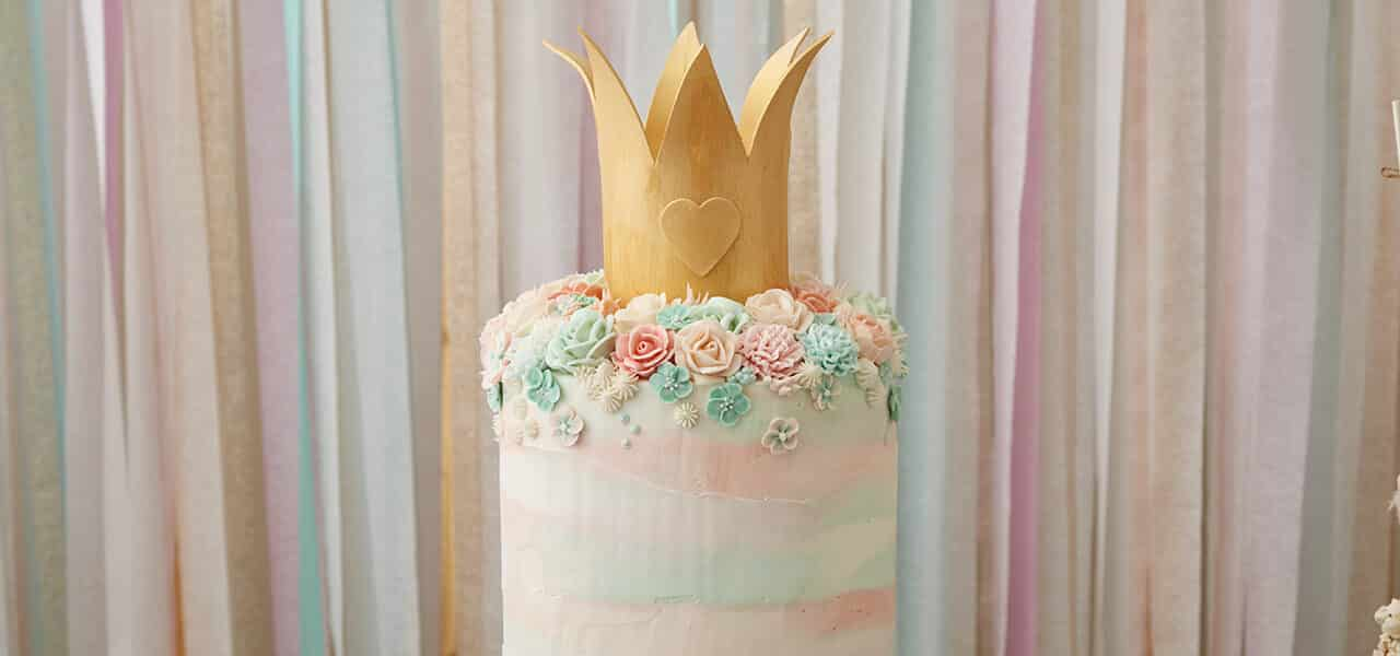 Magnificent Fairy Princess Themed Birthday Cake Wilton Blog Personalised Birthday Cards Bromeletsinfo