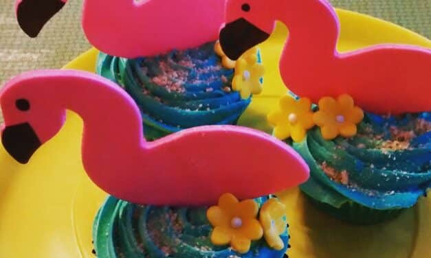 Flamingo Cupcakes – Perfect for Summer!
