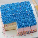 How to Cut a Square Cake