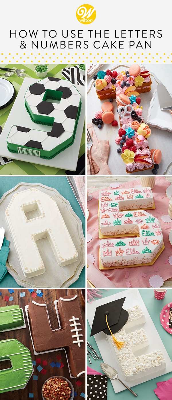Strange How To Use The Letters And Numbers Cake Pan Wilton Blog Birthday Cards Printable Riciscafe Filternl