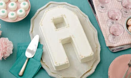 How to Use the Letters and Numbers Cake Pan
