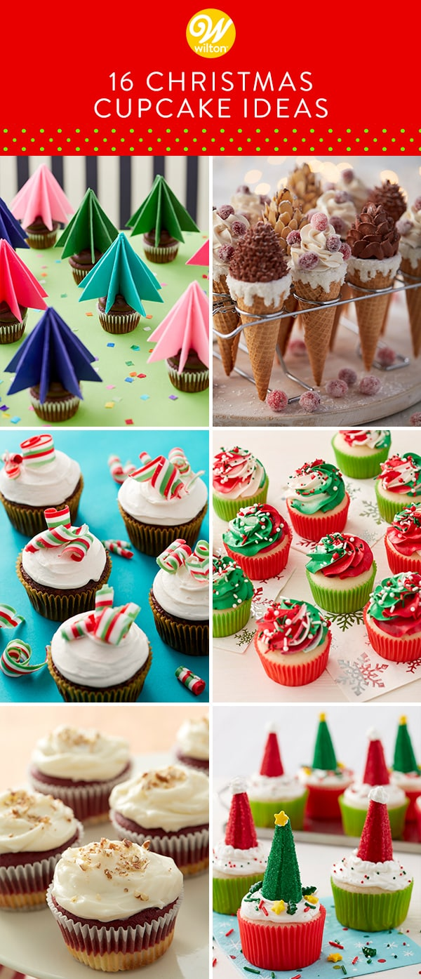 16 Easy Christmas Cupcake Ideas Best Christmas Cupcakes